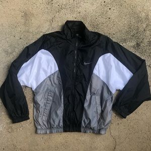 NIKE lined Nylon Sports Windbreaker / Jacket M